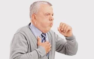 Приступ кашля при сердечной недостаточности